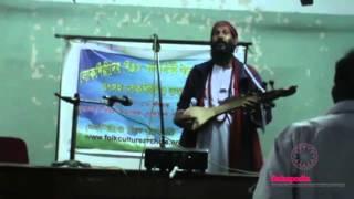 Performing Arts: Je chinilo sei manush ,sei amor holo re by Halim Fakir