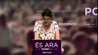 Mujer y política - Cristina Cabedo PODEMOS