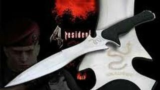 ريزنت ايفل ٤ خبرة سكين #2
