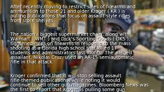 Kroger hardens stance on guns