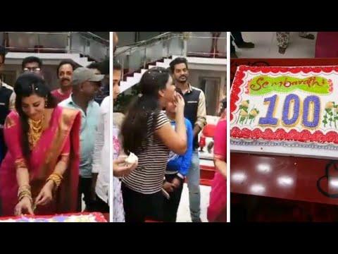Zee Tamil Sembaruthi Serial 100th Episode Celebration in Shooting Spot   Live Instagram Streaming