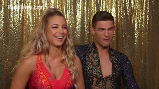 Strictly 2017: Gemma Atkinson and Aljaz Škorjanec