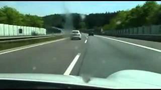 Insane Highway Driving In A Porsche 977 GT3