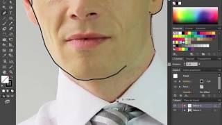 La Formation Illustrator CS6 cour N°70  Dessiner les contours d'un personnage