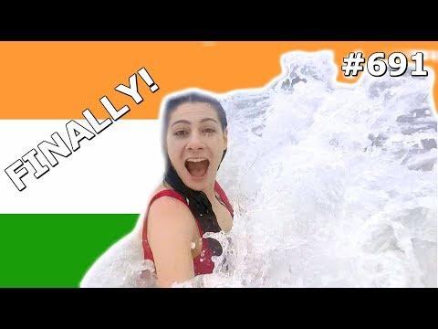 GOA BEACH FUN INDIA DAY 691| TRAVEL VLOG IV