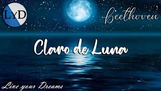 Beethoven - Sonata Claro de Luna (60 Minutos) - Música Clásica Piano para Estudiar y Concentrarse