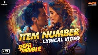 Teefa In Trouble | Item Number | Lyrical Video | Ali Zafar | Aima Baig | Maya Ali | Faisal Qureshi