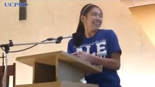 Farewell speech of Alyssa Valdez of the Ateneo Women
