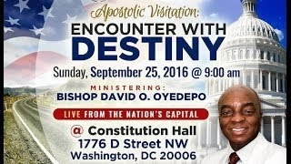 Bishop David Oyedepo Apostolic Visitation to Winners Chapel Maryland USA. 25thSept;2016
