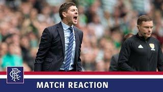 REACTION | Steven Gerrard | Celtic 1-0 Rangers