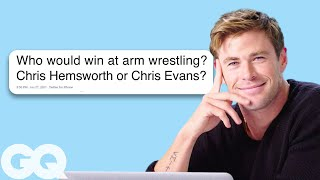 Chris Hemsworth Goes Undercover on Twitter, YouTube and Quora   GQ
