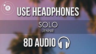 JENNIE - SOLO (8D AUDIO)