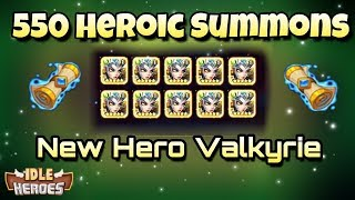 Idle Heroes (P) - 550 Heroic Summons and Heroic Miracle Completed!
