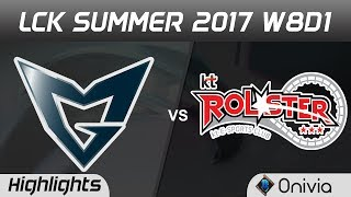 SSG vs KT Highlights Game 3 LCK SUMMER 2017 Samsung vs KT Rolster by Onivia