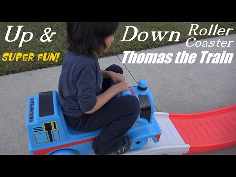 Thomas & Friends Up & Down Roller Coaster Thomas the Tank Engine Ride