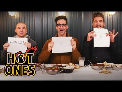 Xxx Mp4 Rhett Link Eat The World S Spiciest Curry With Sean Evans Hot Ones 3gp Sex