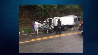 Acidente deixa dois mortos e quatro feridos na MG 050 entre Divinópolis e Itaúna