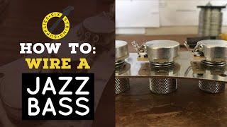 Jazz Bass Wiring - How to wire a Fender Jazz Bass
