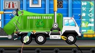 Garbage Truck Repair | Cars Garage for Kids | Videos For Children