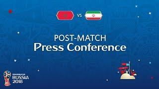 FIFA World Cup™ 2018: Morocco v. IR Iran - Post Match PC