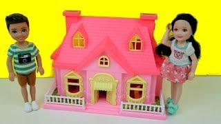 لعبة البيت بيت تشلسي الصغير ألعاب بنات Barbie Dollhouse