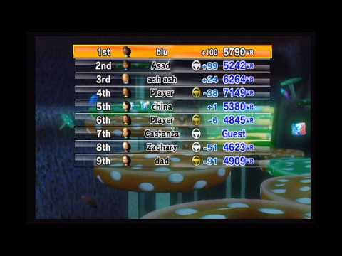 Mario Kart Wii Online (5/19/14) Last Night of Nintendo Wi-Fi Connection
