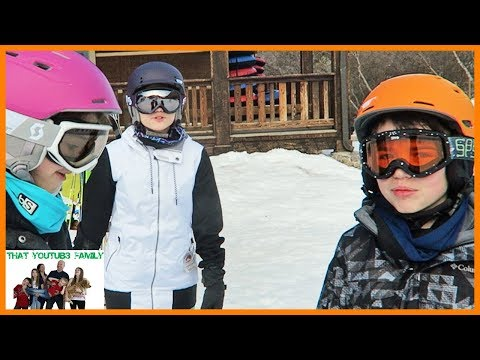 Xxx Mp4 Our First Time Snow Skiing That YouTub3 Family 3gp Sex