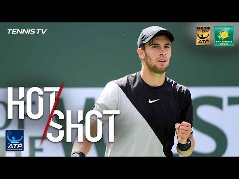 Xxx Mp4 Hot Shot Coric Outfoxes Federer In Indian Wells SF 2018 3gp Sex