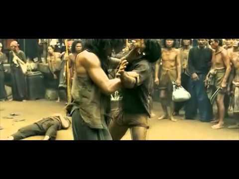 Tony Jaa is just a tad bit tipsy (Ong Bak 2 Drunken Style Fight Scene)