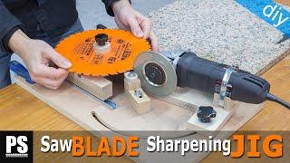 Saw Blades & Router Bits Sharpening Jig