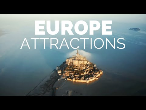 25 Top Tourist Attractions in Europe Travel Video