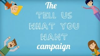 SuccessCDs Education  - Tell us what you Want Campaign