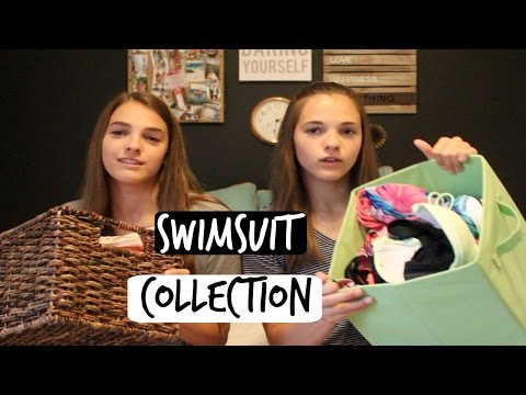 Megan and Ciera's Swimsuit Collection!