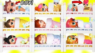 LOL Surprise Doll Fresh Gets New Bunk Beds Lil Brother Punk Boi Boy + Secrets Changing Toy Surprises