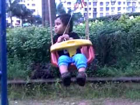 Janak Mahesh Daka , Hanging in the dream park , in the age of 1year 5 month , 14-08-2011 , time: 17: