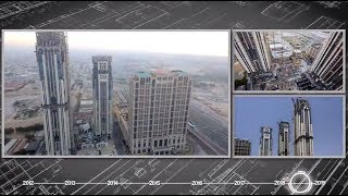 Al Habtoor City Construction Progress Time-lapse (April 2012 – July 2018)