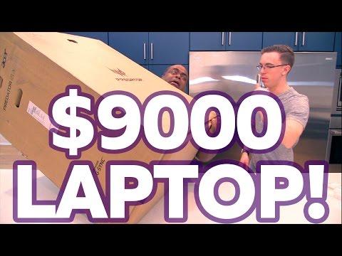 UNBOXING a 9000 LAPTOP
