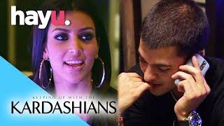 Kim & Khloé Crash Rob's Date | Keeping Up With The Kardashians