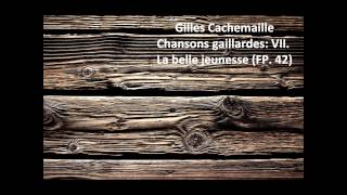 Gilles Cachemaille: The complete