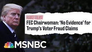 FEC Chairwomen Demolishes Trump
