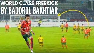 Gol Free Kick Cantik Baddrol Bakhtiar dari 25 Meter (Perak lwn Kedah) 26-04-2017