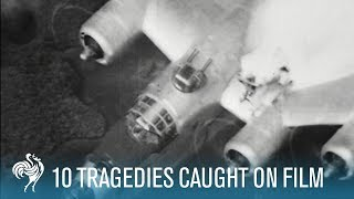 10 More Tragedies Caught on Film | British Pathé
