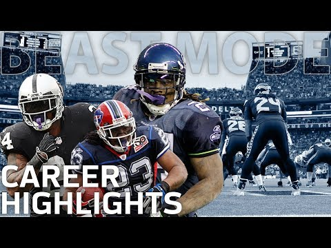 Marshawn Lynch s BEAST MODE Career Highlights NFL Legends