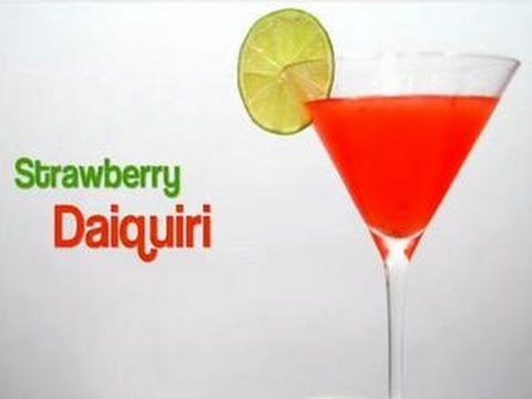 How to Make a Strawberry Daiquiri