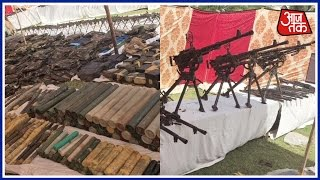 Massive Quantity Of Ammunition Seized By Police In Water Tank In Azizabad, Pakistan