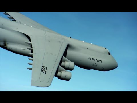 watch Largest Plane In The U.S. Air Force • The C-5 Galaxy