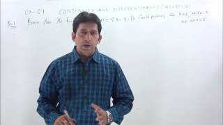 CONTINUITY & DIFFERENTIABILITY-1 class 12 NCERT Solutions