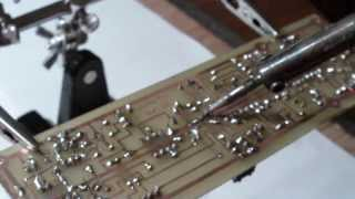 My self build YUSYNTH voltage-controlled modular synthesizer - Making Of