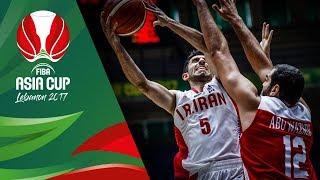 Iran v Jordan - Highlights - FIBA Asia Cup 2017