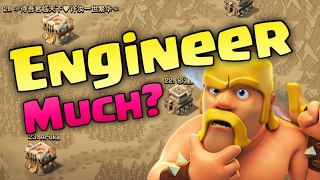 CLASH  OF CLANS - ENGINEERING BASES & CLANS